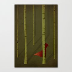 Little Red Riding Hood - NO TEXT Canvas Print