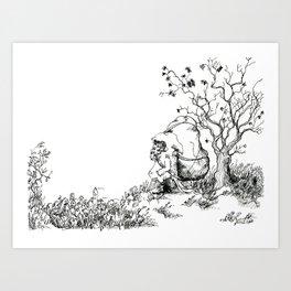Little Man Art Print