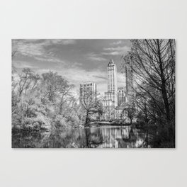 Mirror the Big Apple Canvas Print
