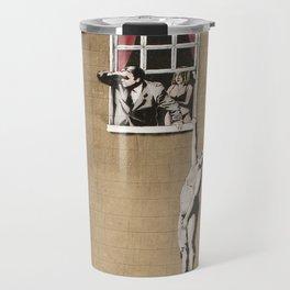 Banksy - Council Building, Bristol Travel Mug