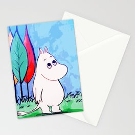 The walk of Moomin Stationery Cards