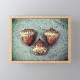 Signs of Fall Framed Mini Art Print