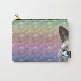 Bubbles the Cat Carry-All Pouch
