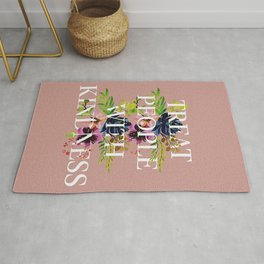 Treat People With Kindness graphic artwork / Harry Styles Rug
