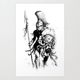 Athena Art Print