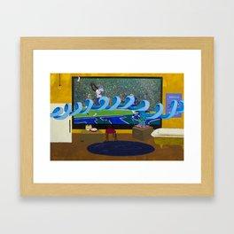 Interception Framed Art Print