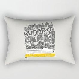 Budapest Cityscape Rectangular Pillow