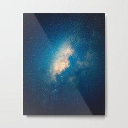 Fractured Milky Way Metal Print