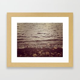 Wyoming Beaches Framed Art Print
