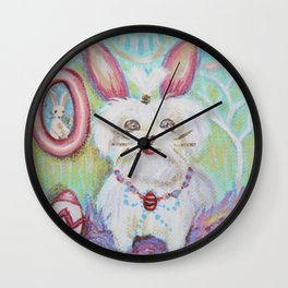 Easter Mitzi Wall Clock
