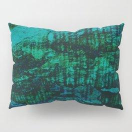 Flora Celeste Kyanite Aqua Aura Tree Texture  Pillow Sham