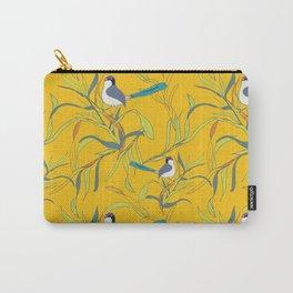 Sunny Fairy Wrens Carry-All Pouch