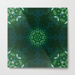 Dark Forest Colors - Mosaic - Version 1.0 Metal Print