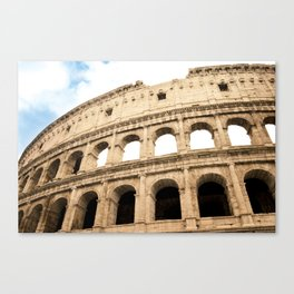 The Colosseum, Rome, Italy. Canvas Print