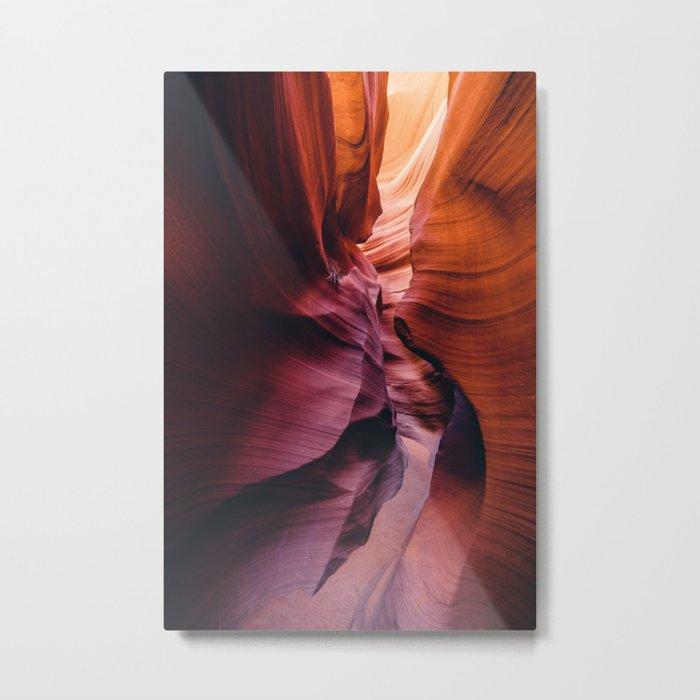 Antelope Canyon Rainbow Metal Print