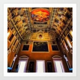 Museo Archeologico Nazionale Di Napoli Art Print