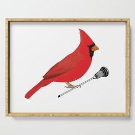 Lacrosse Cardinal  Serving Tray