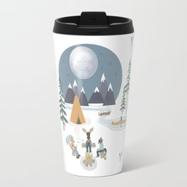 Camp Sleepy Moon (Large Print) Travel Mug