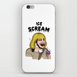 ICE SCREAM iPhone Skin
