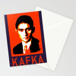 Authors of Note - Franz Kafka Stationery Cards