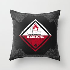 Kemical Throw Pillow