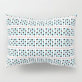 Rectangle and abstraction 3-abstraction,abstract,rectangled,geomtry,geometric Pillow Sham