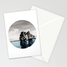Fighting Cock Islet on Ha Long Bay Vietnam Stationery Cards