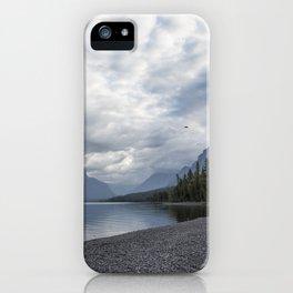 Tranquility at Lake McDonald iPhone Case