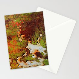 Moldy Rust Texture Stationery Cards