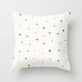 Cute Confetti Pattern Throw Pillow
