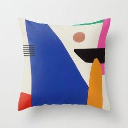 'Tropics flow' Throw Pillow