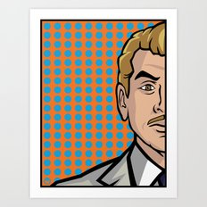 Ray Gillette of ISIS Art Print