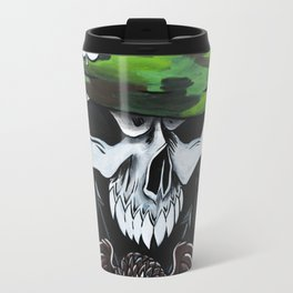 Mlitary Skull Travel Mug