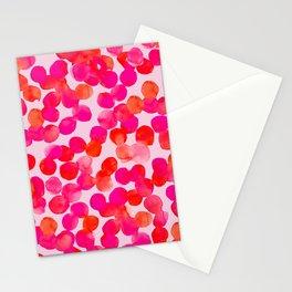 Pink Spots Stationery Cards