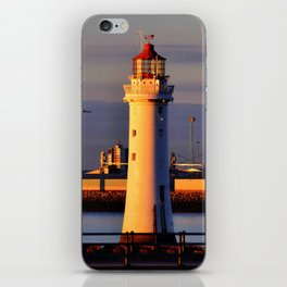 Seafront Sunset iPhone Skin