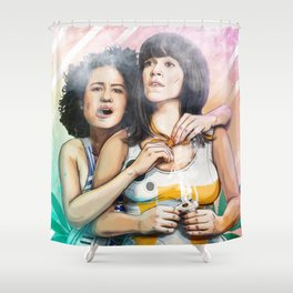 These Are The Broads You Are Looking For Shower Curtain