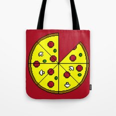 Who 8 my bit? Tote Bag