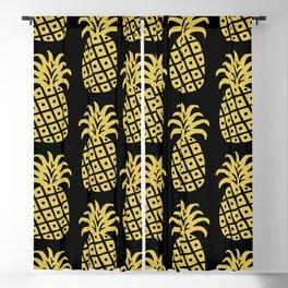 Retro Mid Century Modern Pineapple Pattern 540 Blackout Curtain