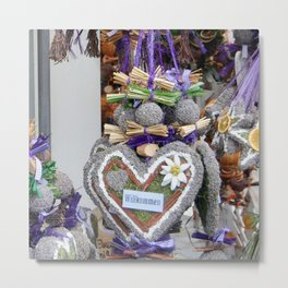 Welcoming Heart Metal Print