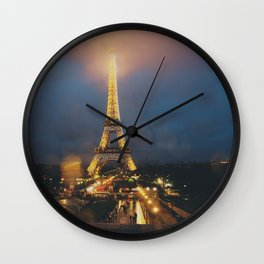 all lit up ... Wall Clock