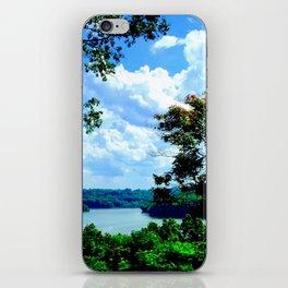Peaceful scenery iPhone Skin