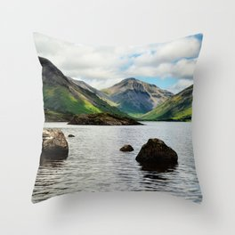 Wastwater Lake District Throw Pillow