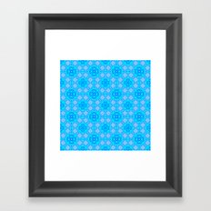 Flowers Rondo Framed Art Print