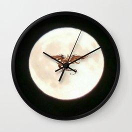 Moondragon 5 Wall Clock
