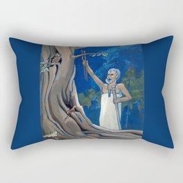 Night Rituals Rectangular Pillow