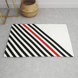 80s stripes Rug