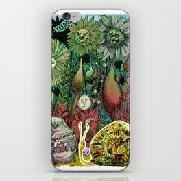 The case of The Wrong Feed On The Ol' Snail Trail... iPhone Skin