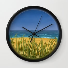 World Within Me - Beachside Wall Clock