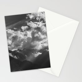 Between Rays Stationery Cards
