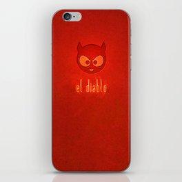 el diablo iPhone Skin